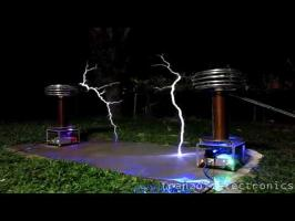Rossini - Barber of Seville on Musical Tesla Coils