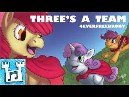 4everfreebrony - Three's a Team [2017 re-record]