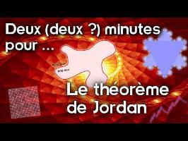 Deux (deux?) minutes pour... le théorème de Jordan