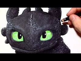 Comment dessiner Krokmou - Dragons [Tutoriel]