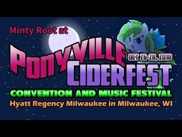 Minty Root at Ponyville Ciderfest 2018! (Animated)