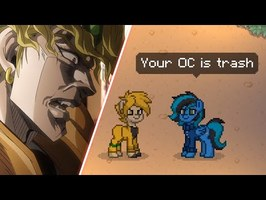 Dio's Bizzare Pony Town Adventure (JJBA & MLP in real life)