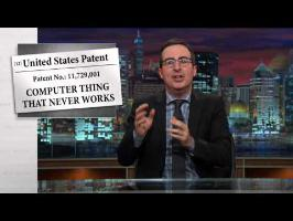 Last Week Tonight with John Oliver: Patents (HBO)