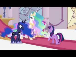 MLP Season 4 Finale (Pt 1) Ending (with Doctor Who Theme)