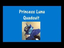 Princess Luna Quadsuit