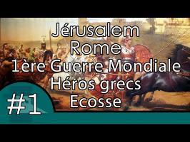 Jérusalem, Rome, 1ère guerre mondiale, héros et Ecosse - Questions Histoire #1