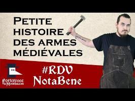 histoire des armes médiévales par La forge d'Aslak - Montbazon 2016