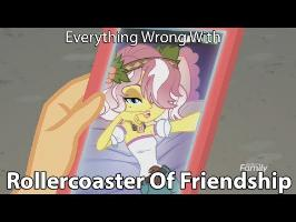 Everything Wrong With MLP Equestria Girls - Rollercoaster Of Friendship [Parody]
