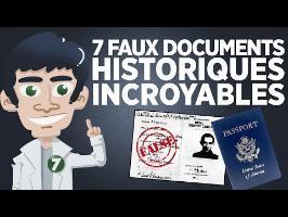 7 faux documents historiques incroyables