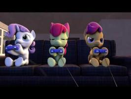 [SFM Ponies] CMC Judges Shadow's poor choice of games.