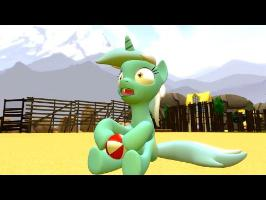 Lyra and Bon Bon in SFM #7 | Summer