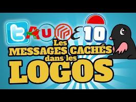 TOP10 des messages cachés dans les LOGOS