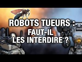 ROBOTS TUEURS : les nouvelles armes qui inquiètent