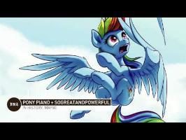 Pony Piano + SoGreatandPowerful - In History, Maybe