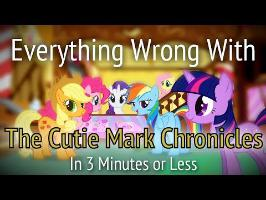 Everything Wrong With The Cutie Mark Chronicles in 3 Minutes or Less