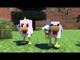 Chicken Coop Raid - Mianite Highlight (Minecraft Animation)