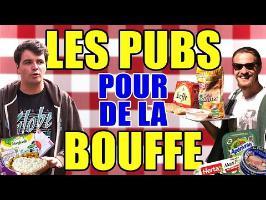 LES PUBS POUR DE LA BOUFFE : L'ANALYSE de MisterJDay