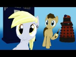 The Doctor and Derpy (Pardoy Song Pinkie and the Brain)