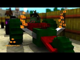 Monster School - Two Races in One! - Minecraft Animation