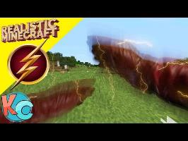Realistic Minecraft - THE FLASH!