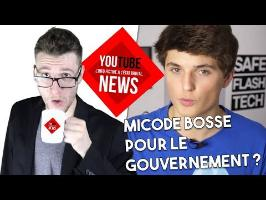 MICODE travaille pour le GOUVERNEMENT ? - YOUTUBE NEWS