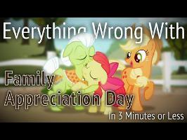 (Parody) Everything Wrong With Family Appreciation Day in 3 Minutes or Less