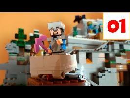 La Mine Minecraft de Lego (présentation du Calendrier de l'Avent)