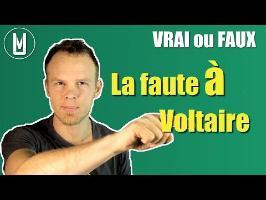 On dit la faute À Voltaire - VRAI ou FAUX ? #2
