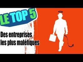 Le top 5 des entreprises les plus maléfiques