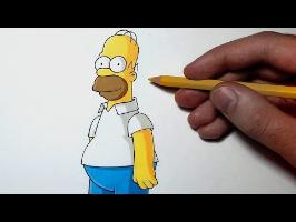 Comment dessiner Homer Simpson [Tutoriel]