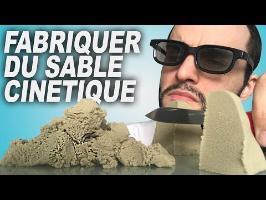 FABRIQUER DU SABLE CINÉTIQUE ! Expérience