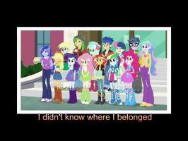 Right There In Front of me [With Lyrics] - My Little Pony Equestria Girls Friendship Games