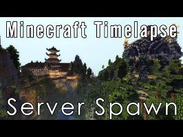 Minecraft Timelapse - Spawn (200k subs)