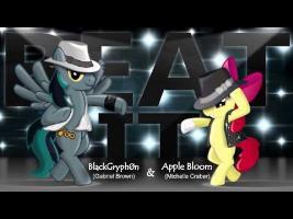 Beat It - Apple Bloom & BlackGryph0n