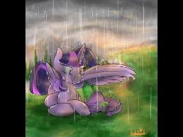 Valence - Rainy Day in Ponyville