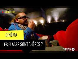 Cinéma : les places sont chères ?