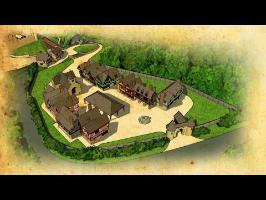 Construire un village médiéval - Archéosite de Montbazo