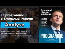 Présidentielle 2017 : Analyse du programme de Macron