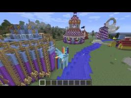 Let's Play - Mine Little Pony Minecraft Mod and Equestria Map