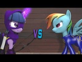 [SFM Ponies] Injustice 2 - Purple Arrow V The Dash