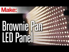 Brownie Pan LED Panel