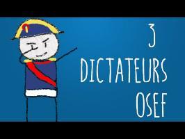 3 DICTATEURS OSEF