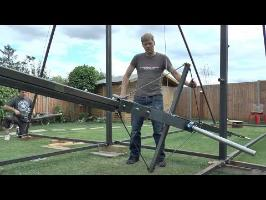 Making a Huge 360 Swing #2 Swing Arm