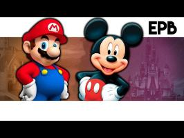 Mario Vs Mickey - Epic Pixel Battle [EPB 01 Remastered]
