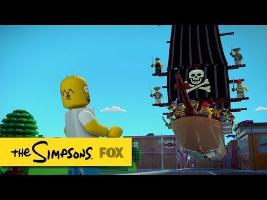 Trailer for Brick Like Me | THE SIMPSONS