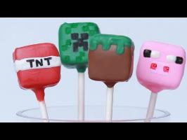 MINECRAFT CANDY POPS - NERDY NUMMIES