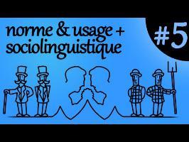 norme & usage + sociolinguistique - Ma Langue dans Ta Poche #5