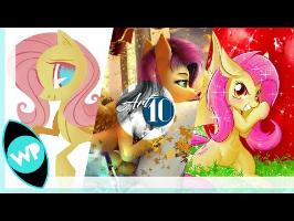 Art10 - Springtime Fluttershy
