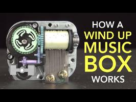 How a Wind Up Music Box Works