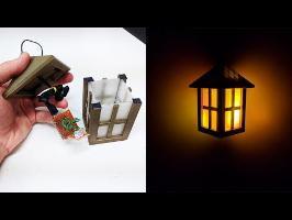 J'imprime une lanterne avec du filament couleur bronze et transparent !